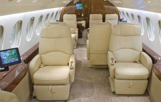 Falcon 7X Cabin