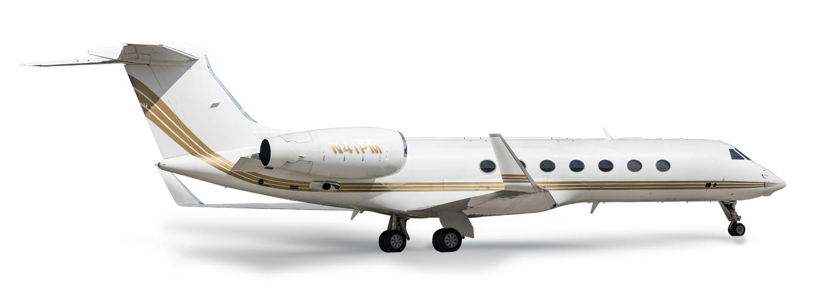 Gulfstream G550 Side