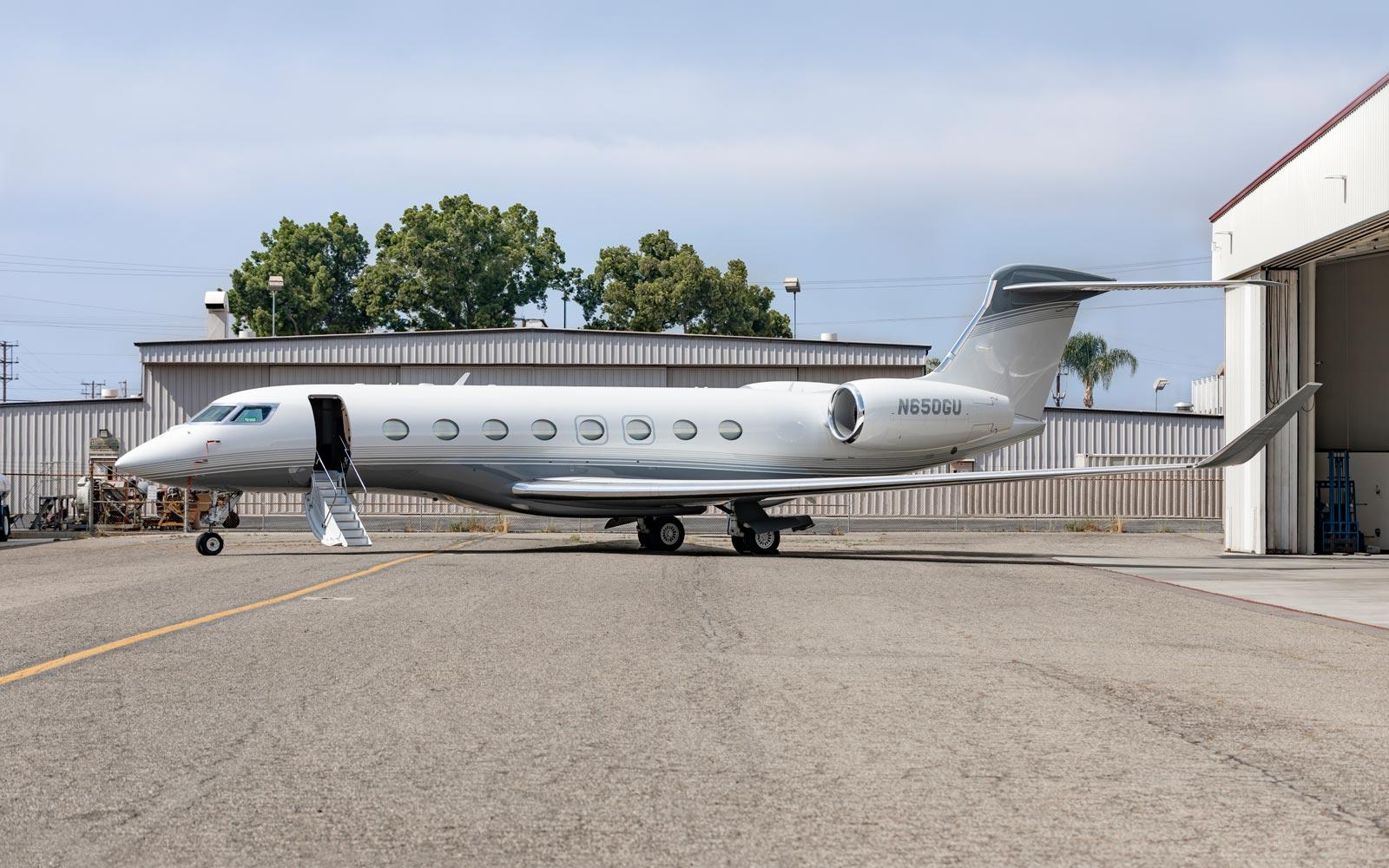 Gulfstream G650 - N650GU - Exterior