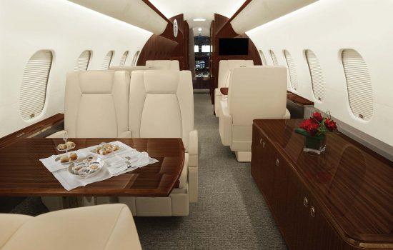 Global 5000 - N283CK - Interior