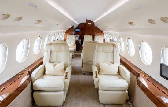 Falcon 7X - N919NE - Interior