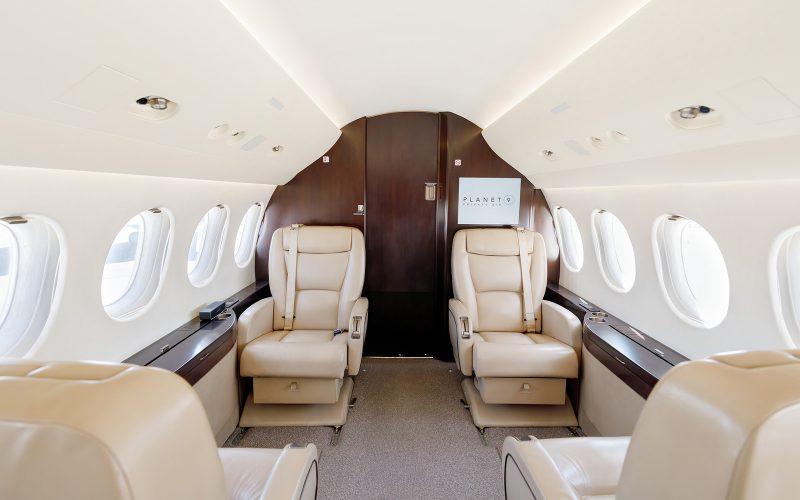 Falcon 7X - N999PN - Interior