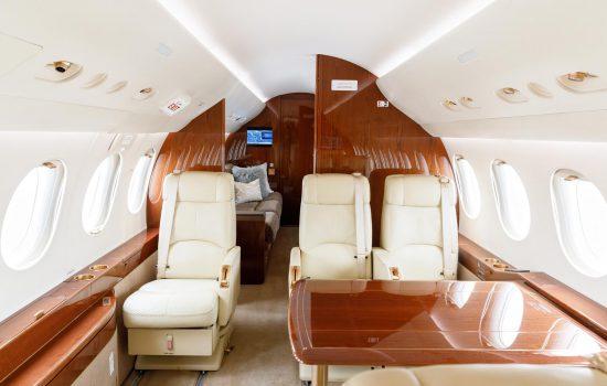 Falcon 7X - N119NE - Interior