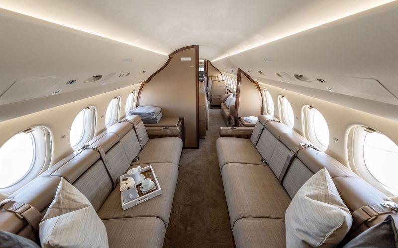 Falcon 7X - N996MS - Interior