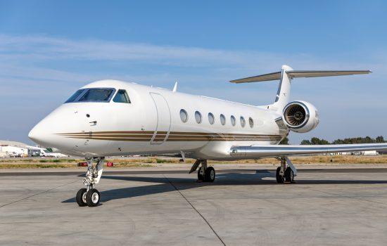 Gulfstream G550 - N41PM - Exterior