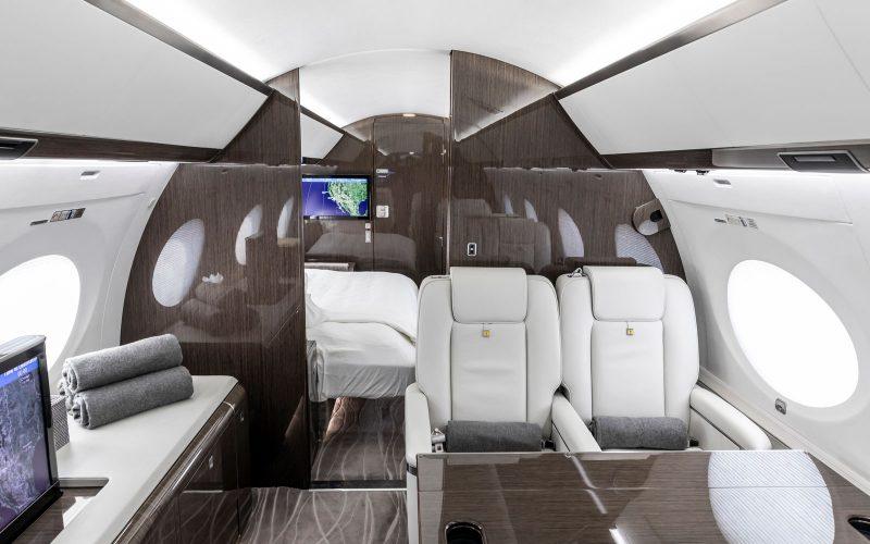 Gulfstream G650 - N650GU - Interior
