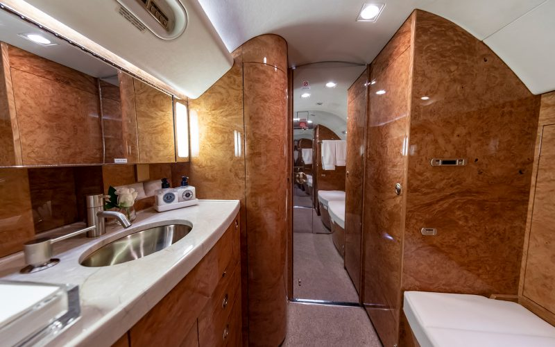 Gulfstream G550 - N41PM - Interior