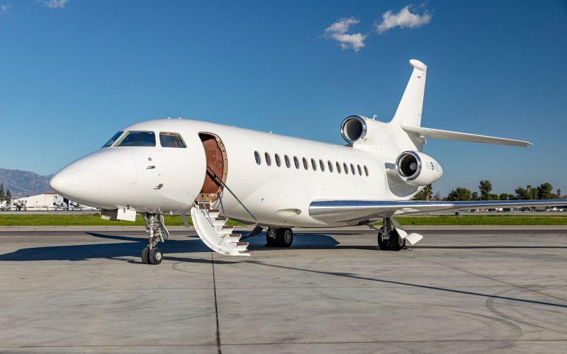 Falcon 7X - N996MS - Exterior