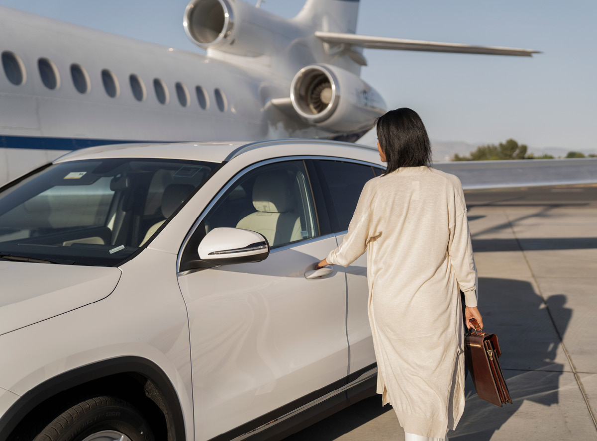 Aviation for discerning clientele.