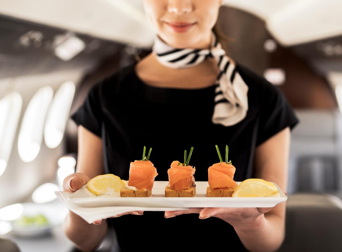 Elevated cuisine at high altitudes
