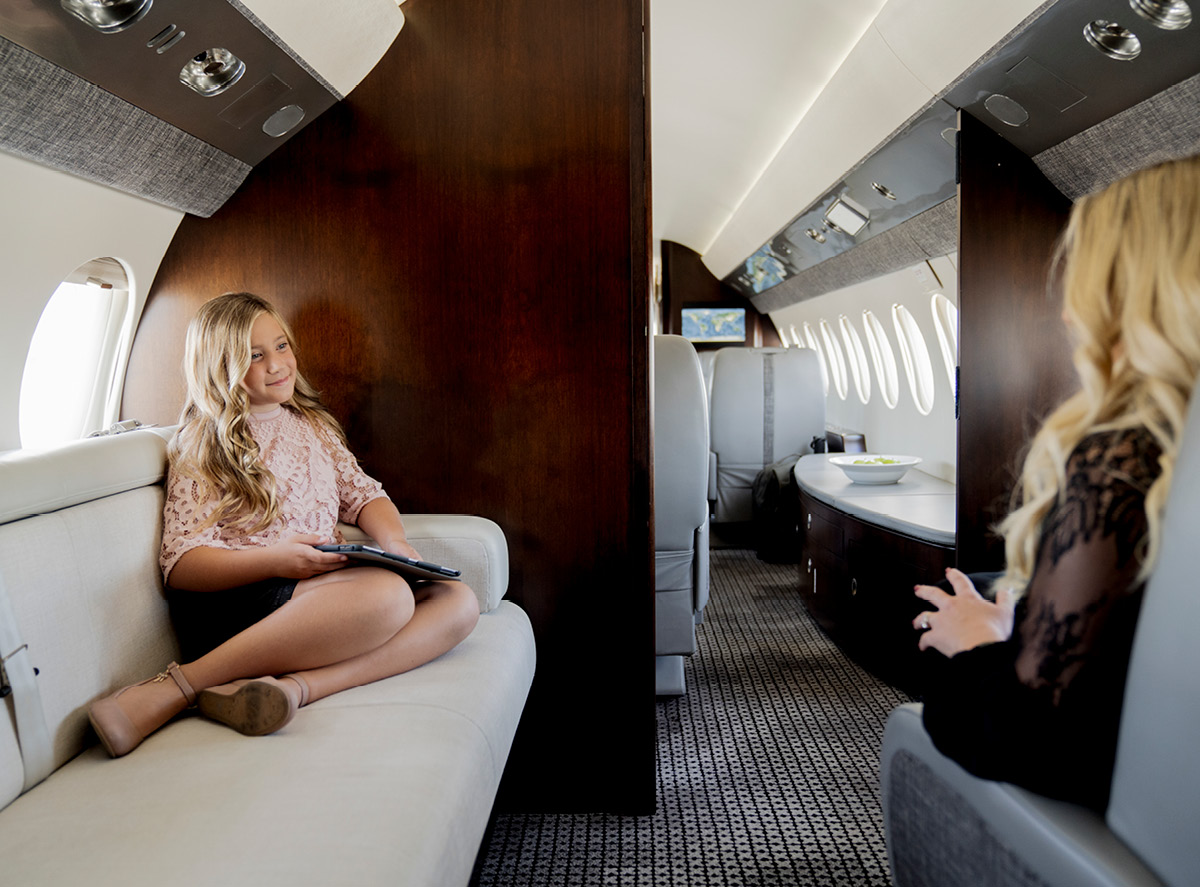 A boutique hotel in the sky.