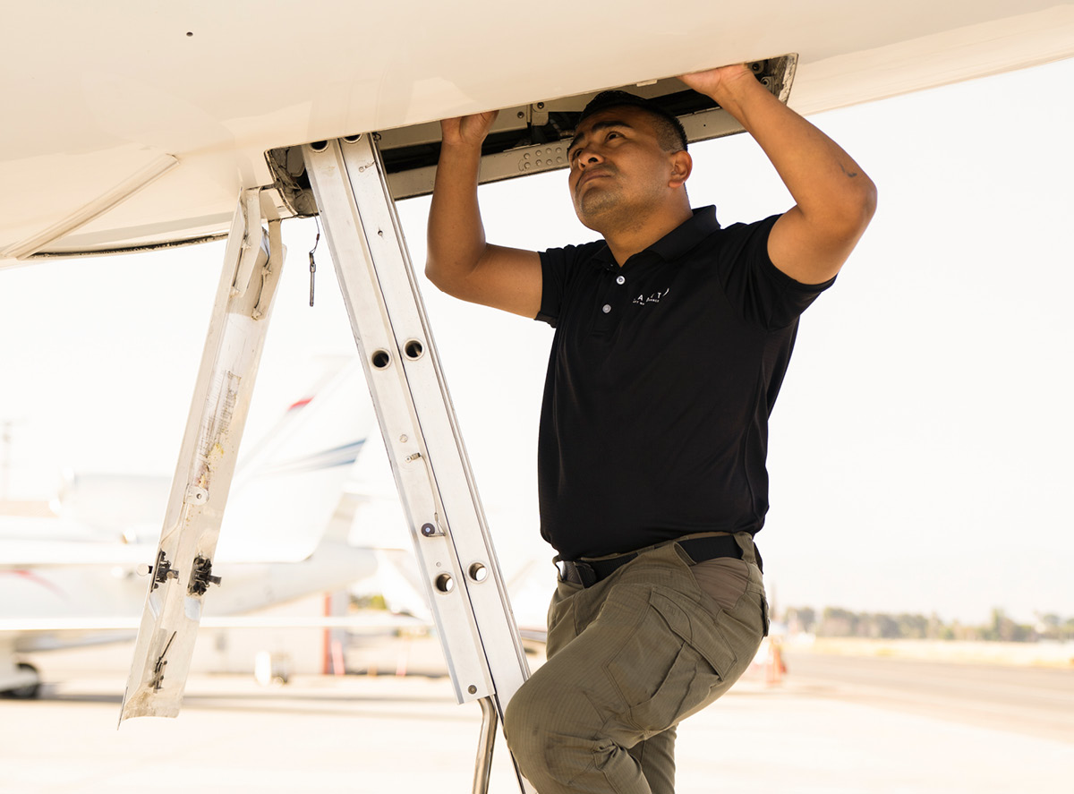 Keeping your aircraft in tip-top shape.