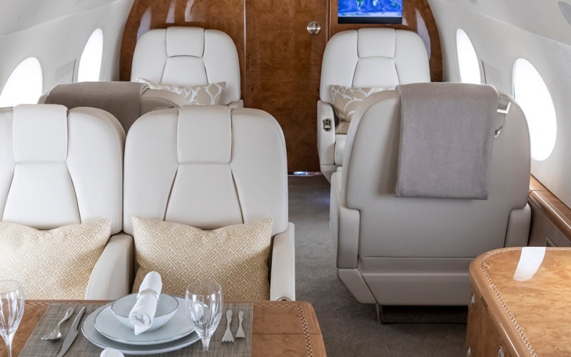 Gulfstream G550 – N41PM